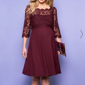 🎊HP🎊 Maternity dress Seraphine Luxe - like new!